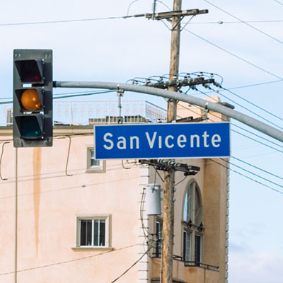 LADOT to Host Webinar on San Vicente Boulevard Project