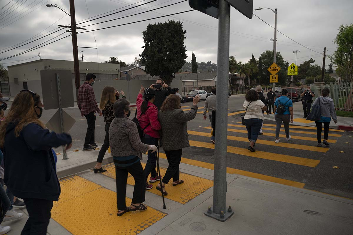 Street Safety Improvements Completed in Palms, Glassell Park