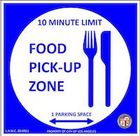 signo de recogida de alimentos