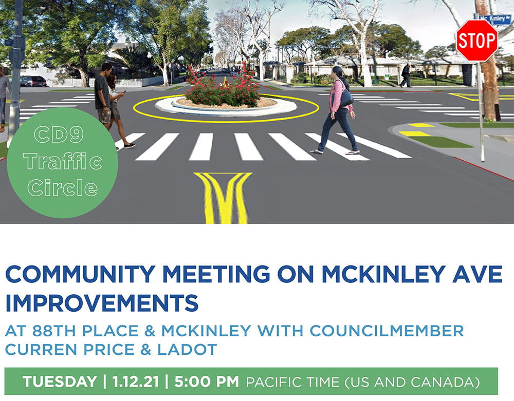 Webinar on McKinley Avenue Improvements