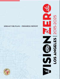 Vision Zero Action Plan - 2018 Progress Report